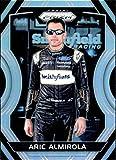 2018 Panini Prizm Silver Prizm #42 Aric Almirola Smithfield Foods/Stewart-Haas Racing/Ford NASCAR Racing Trading Card