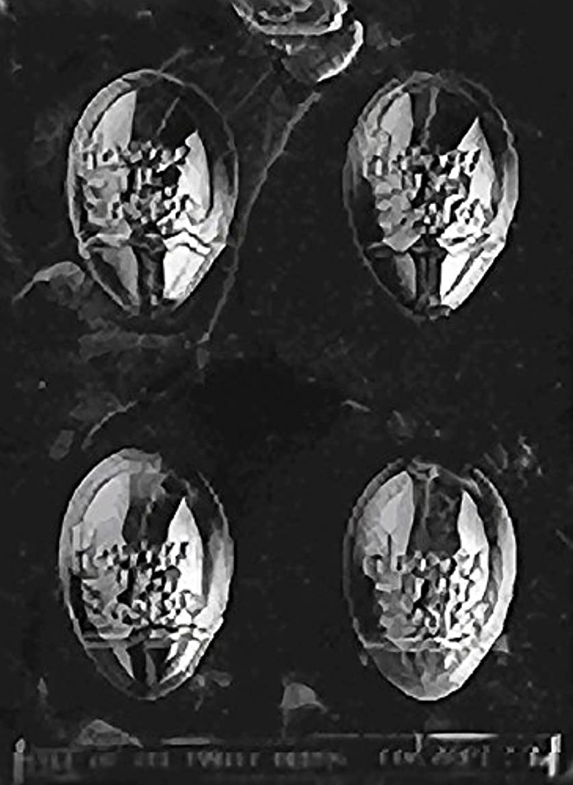 CybrTrayd E091 Happy Easter Egg Soap/Candy Mold with Exclusive Cybrtrayd Copyrighted Soap Molding Instructions uezpz57804307822