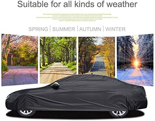 Autoplanen Autoabdeckung Kompatibel mit Nissan Murano Car Cover Car Plane Allwetter Regen Sonnenschutz Winddichtes Staubdichtes Outdoor Indoor Car-Schild (Größe, Einbauschränke lint), Einbau-lint