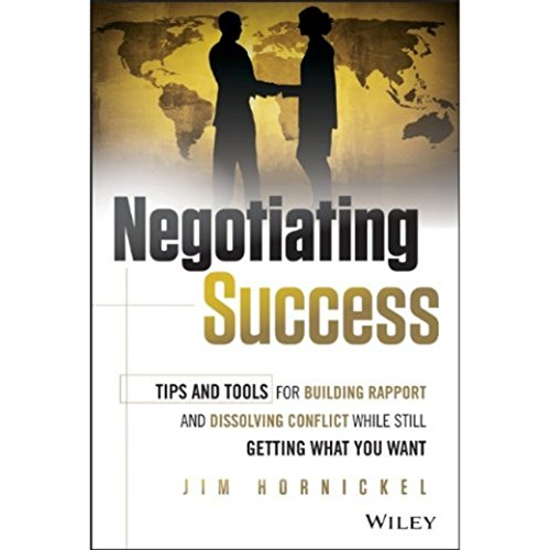 Negotiating Success audiobook cover art