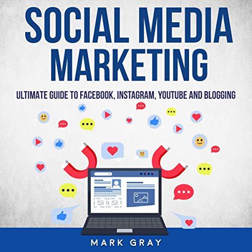 Social Media Marketing audiobook cover art