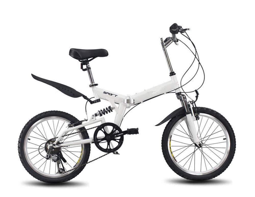 Bicicleta Plegable Adulto 20in Aluminio Bicicleta Unisex Folding ...