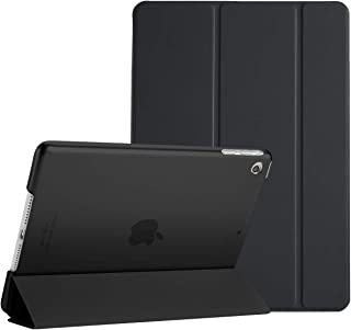 """ProCase iPad Mini 1 2 3 Case (Old Model), Ultra Slim Lightweight Stand Case with Translucent Frosted Back Smart Cover for 7.9"""" Apple iPad Mini, Mini 2, Mini 3, with Auto Sleep/Wake –Black"""