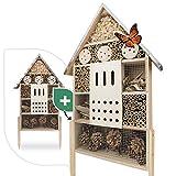 Wildlife Friend | Hôtel à insectes avec toit en zinc - non traité,...