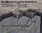Pack Estabilizador de gravilla Geocelda + Lamina geotextil 10 m2