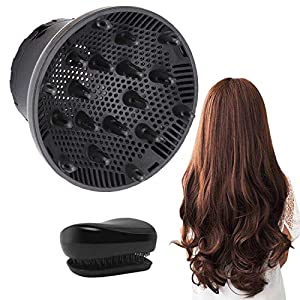 Hair Care products Hair Diffuser, Universal Hair Dryer Diffuser Attachment Suitable for 1.4-inch to 2.6-inch for Dryer Nozzle, Professional…