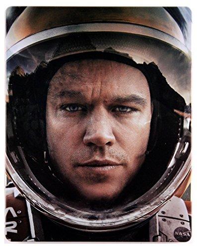 Der Marsianer - Rettet Mark Watney Steelbook [Blu-Ray]+[Blu-Ray 3D] [Region Free] (Deutsche Sprache. Deutsche Untertitel)