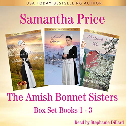 The Amish Bonnet Sisters Series Box Set  By  cover art