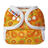Bummis Duo-Brite AI2 Diaper Wrap, Yellow, Size 2 (20-35 lbs)