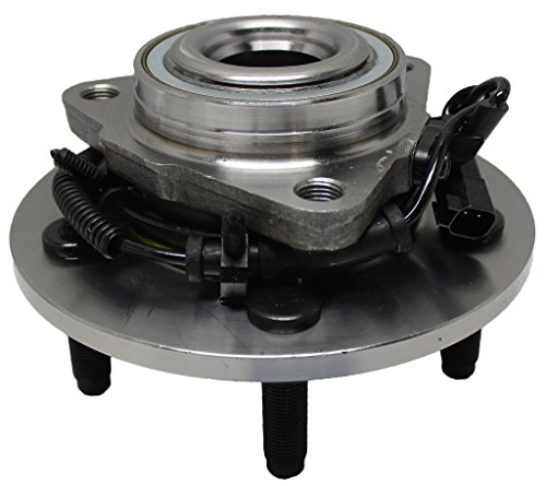 Detroit Axle 515126 Front Driver or Passenger Side Complete Wheel Hub & Bearing Assembly for 2009 2010 2011 Dodge Ram 1500 With-ABS