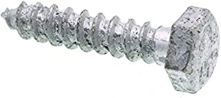 100-Pack The Hillman Group 230074 Hex Lag Screw 3//8-Inch X 1-1//4-Inch Zinc