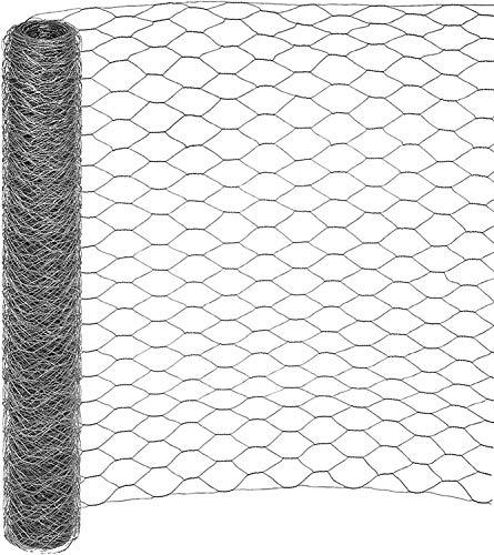 25 mt RETE 25/3 ø 0,8 H 150 cm POLLI ZINCATA RECINZIONE TRIPLICE TORSIONE GALLINE POLLAIO