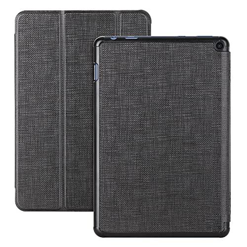 Cresee Custodia per tablet Fire HD 10 (2021, 11a generazione) da 10,1 pollici, con chiusura magnetica e funzione di supporto, per Fire HD 10 2021, colore: Nero