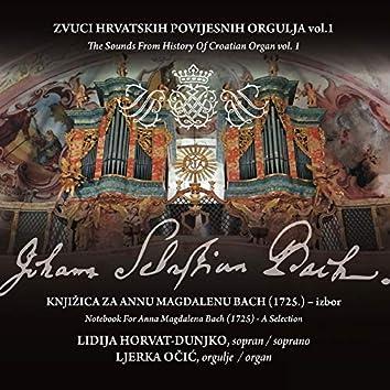 Zvuci Hrvatskih Povijesnih Orgulja Vol. 1