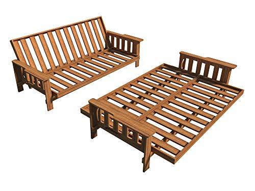 Planes de sofá cama Futon DIY tumbona sofá cama Sleeper muebles construcción carpintería