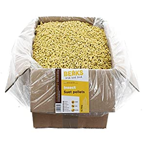 BEAKS wild bird food INSECT suet feed pellets 12.75kg free P&P