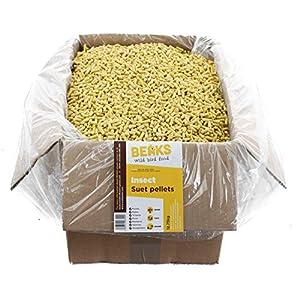 BEAKS wild bird food INSECT suet feed pellets 12.75kg free P&P