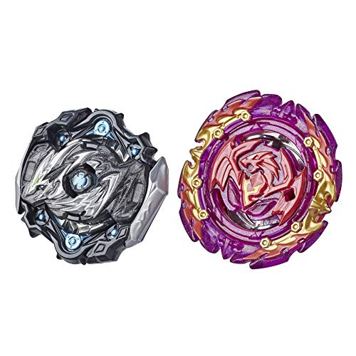 BEYBLADE Burst Surge Dual Collection Pack Hypersphere Myth Evo Dragon D5 and Slingshock Perfect Phoenix P4 Battling Game Top Toys