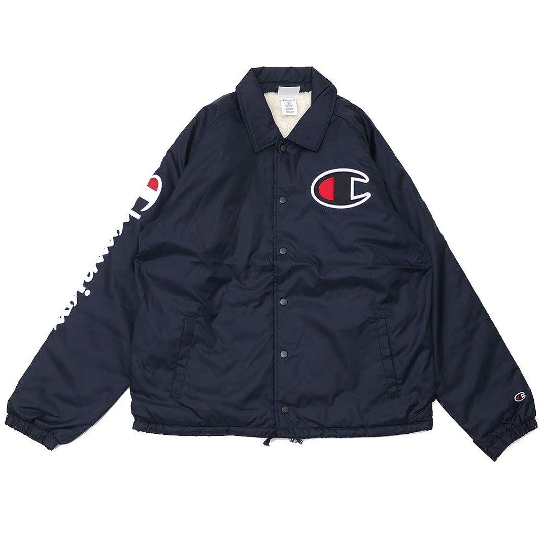 理解する許容勇者[Lサイズ] チャンピオン Champion Sherpa Lined Coaches Jacket コーチジャケット USA企画 海外限定 BLACK ブラック 黒 メンズ 999005717041