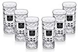 Three Sixty Vodka Wodka - Set di 6 Bicchieri da Shot Graduati, da 2 e 4 cl