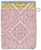 Pip Studio Toalla de ducha Jacquard Check color rosa 55 x 100 cm