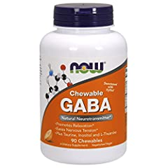 Natural Neurotransmitter* Promotes Relaxation* Eases Nervous Tension* Plus Taurine, Inositol and L-Theanine Sweetened with Xylitol