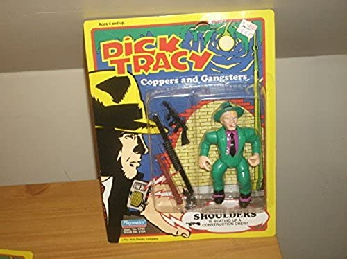 Dick Tracy Shoulders Action Figure by Dick Tracy