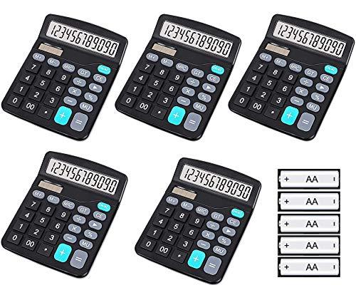 HZFJ Taschenrechner, 12-Bit...
