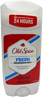Old Spice Deodorant for Men, Long Lasting Fresh, High Endurance, Robust Greens Scent, 3 Oz (Packaging may vary) (Pack of 6)