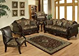 F/S N Luxury Sofa and Love Seat, Living Room Set