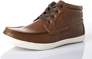 Shoexpress Lace Up Casual Shoes For Men, Tan
