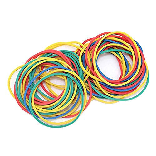 200pcs Tattoo Rubber Bands Damping Rings for Coil Machine Gun Rotary Tattoo Machine Needles Grommets Black Colorful 2 Color (Colorful) For Professional Tattooist Artists Low noise Ergonomic Design
