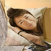 ARASHI 嵐 大野智 クッション枕カバー枕北欧の装飾枕カぬいぐるみ 枕カバー45 x 45cm