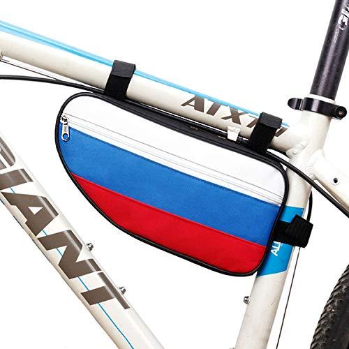 ViViKaya Bolsa de Bicicleta, Bolsa de Cuadro de Bicicleta Bolsa de Bicicleta Triangular, Ideal para Ciclismo, montañismo, Camping, Trekking - 28 * 14 * 6.5cm