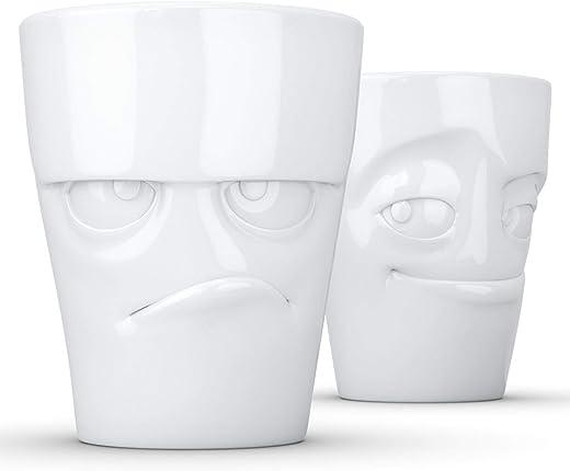Lustiges Kaffeebecher-Set