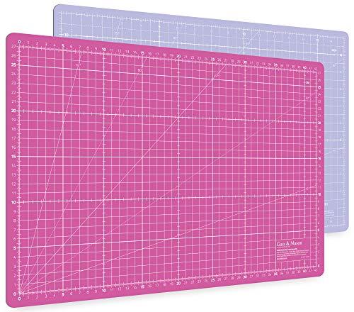 Alfombrilla de corte autorregenerable A3 en rosa