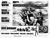 Posterazzi EVCMBDRIBREC026 Rio Bravo, Ricky Nelson, Walter Brennan, Ward Bond, John Wayne, Angie Dickinson, Dean Martin, 1959 Photo Print, 8 x 10, Multi