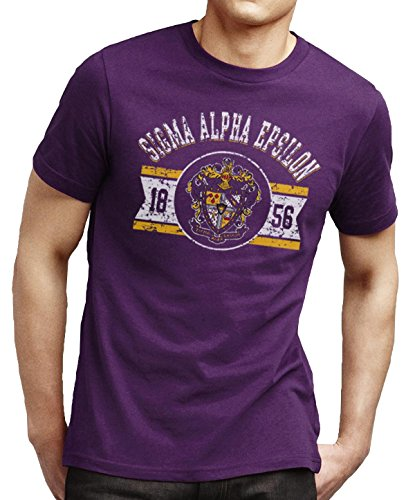 Campus Classics SAE Gymnasium Tee Purple