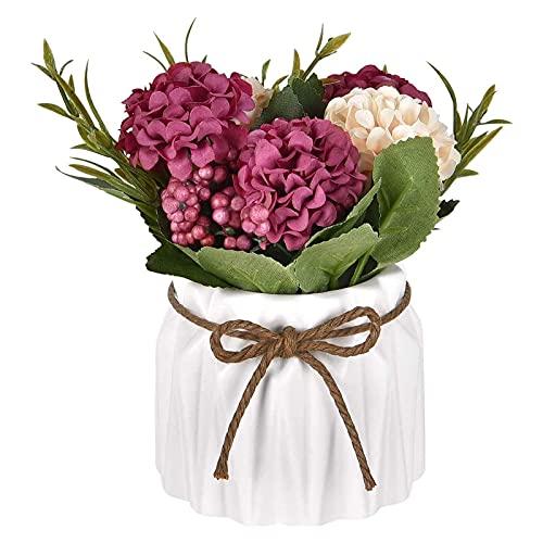 Flores Artificiales Decoracion Jarrones Suelo flores artificiales decoracion jarrones  Marca QIWEIS