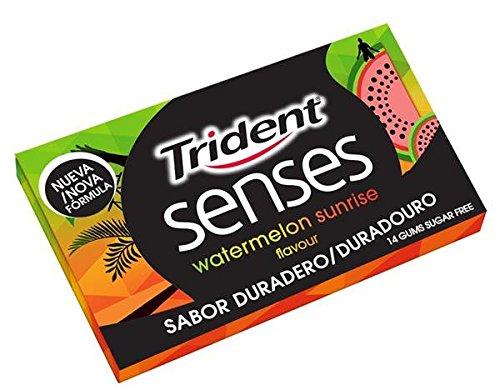 Trident Senses Sandia Chicles Masticables - 120 chicles
