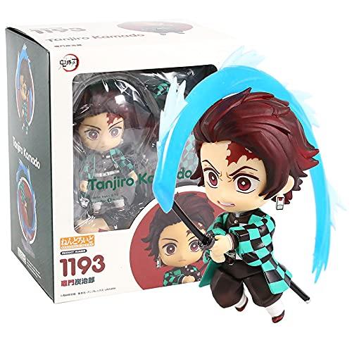 Figura De Acción De Anime Pop Demon Slayer Kimetsu No Yaiba Kamado Nezuko 1194 Tanjirou 1193 Zenitsu Agatsuma 1334 PVC Modelo De Juguete Coleccionable