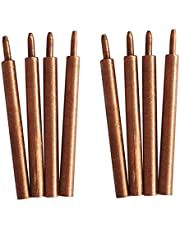 Rollu 8PCS Welding Needle Aluminum Oxide 3mm Eccentric Rod Welding Machine Welding Pen Brazing Battery Nickel Plate