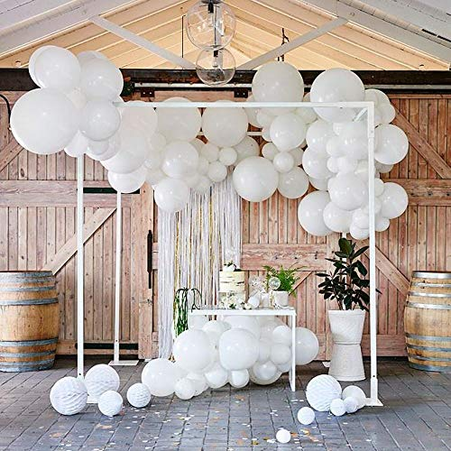 Pack of 60 White Latex Balloons 12 Inch 18 Inch for Wedding Birthday Party Decorations