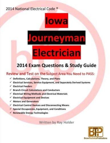 Iowa 2014 Journeyman Electrician Study Guide