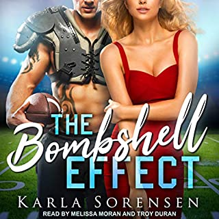 The Bombshell Effect                   By:                                                                                                                                 Karla Sorensen                               Narrated by:                                                                                                                                 Troy Duran,                                                                                        Melissa Moran                      Length: 7 hrs and 52 mins     Not rated yet     Overall 0.0