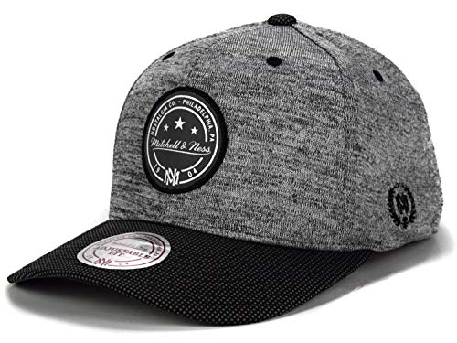 Mitchell & Ness Curved Visor 110 Snapback Space Knit...