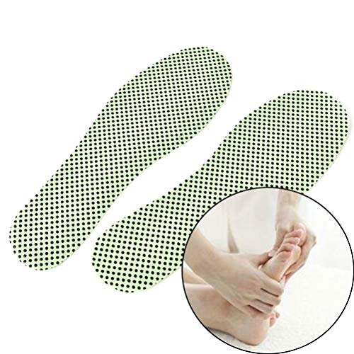 TLEOXS Selbstheizende Einlegesohlen Warme Fußreflexzonen-Einlegesohlen Wintersohlen Für Schuhe Einlegesohlen Beheizte Selbstheizende Einlegesohlen Natürlicher Turmalin