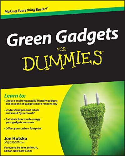 Green Gadgets For Dummies(r) (For Dummies Series)