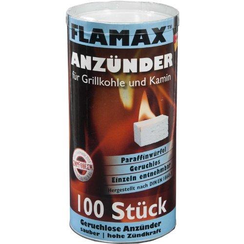 Flamax Grill- und Kaminanzünder 100 Würfel