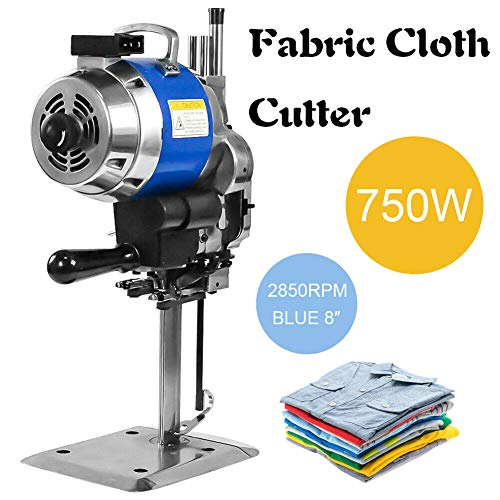 Great Features Of 110V 750W 8 2850rpm Low Noise Auto Sharpening Cloth Fabric Cutter Cutting Machine